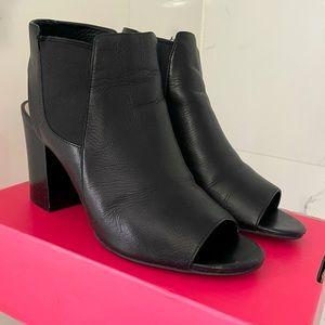 EUC Cole Haan GrandOS Open toe Leather Bootie